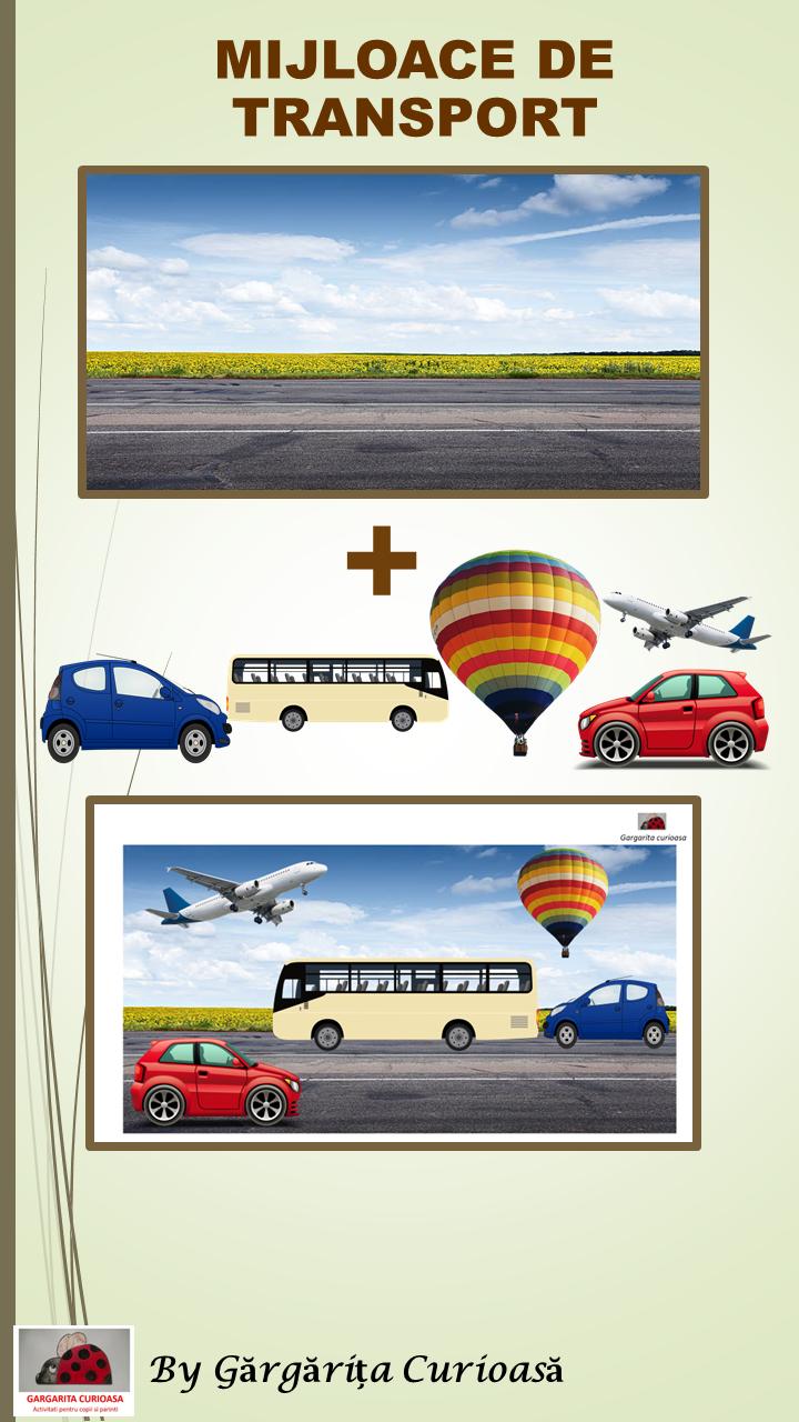 Sortarea mijloacelor de transport: aer-apa-pamant.